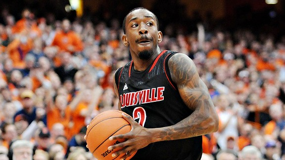 Louisville guard Russ Smith has been averaging 26 points in the NCAA tournament.
