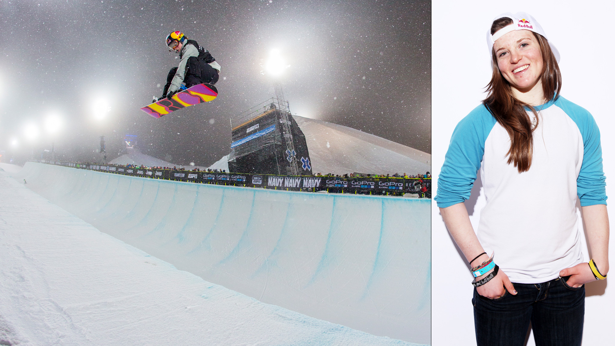 Welcome to the future of women's halfpipe snowboarding.