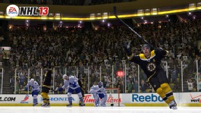 Toronto Maple Leafs at Boston Bruins EA Sports simulation