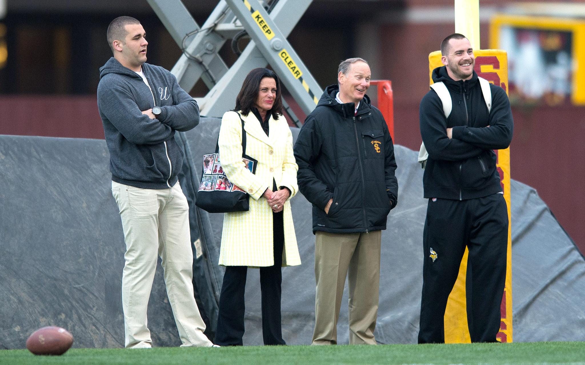 Pat Haden - 2013 USC Spring Practice - ESPN