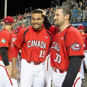 Tyson Gillies and Teams Canada