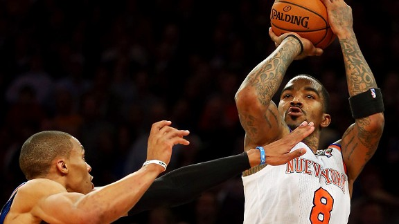 J.R. Smith, Russell Westbrook