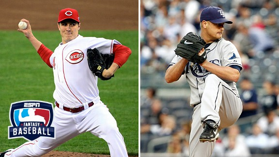 Homer Bailey and Alex Cobb