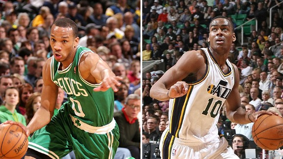 Avery Bradley and Alec Burks