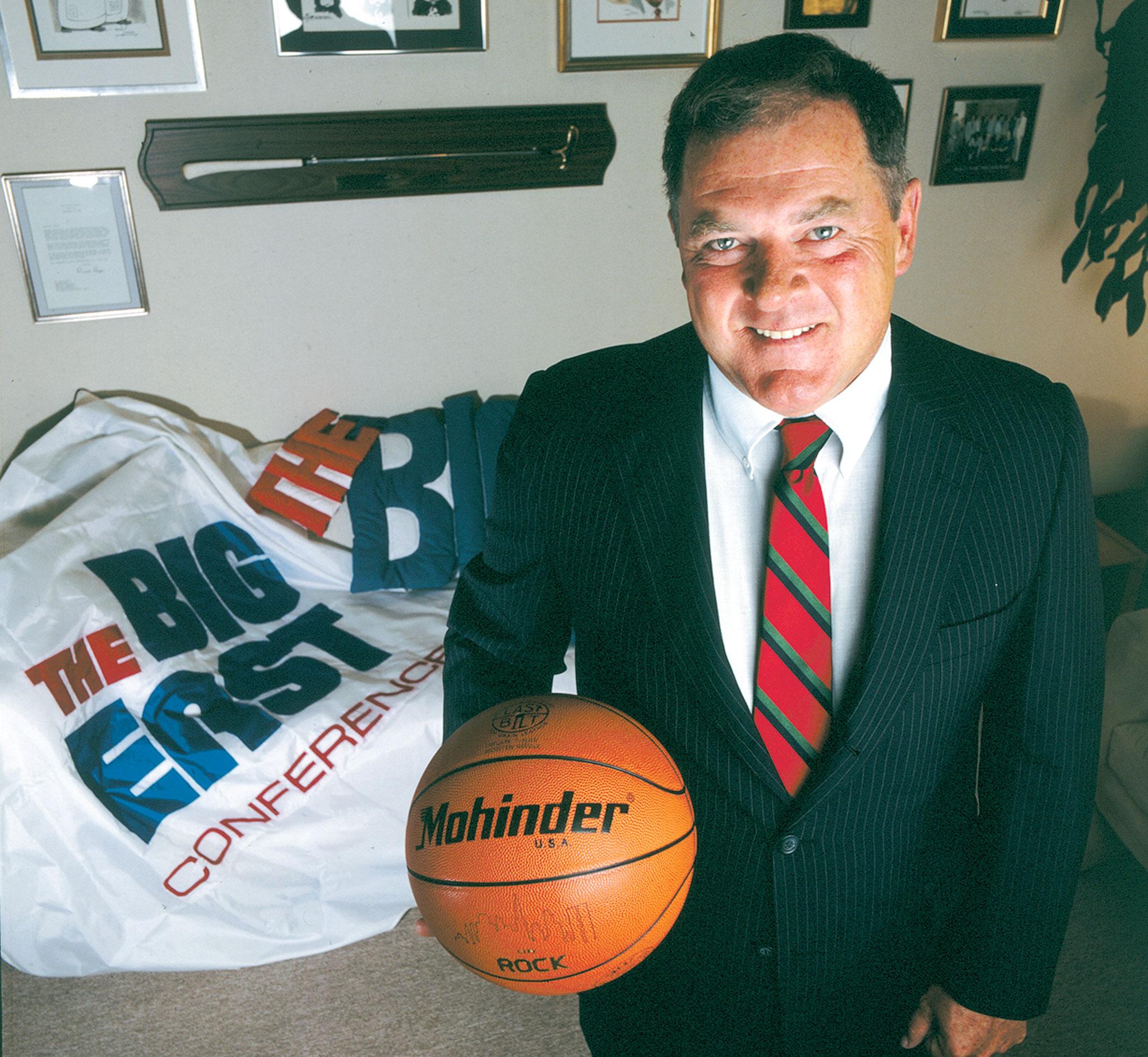 Big East's Leading Man