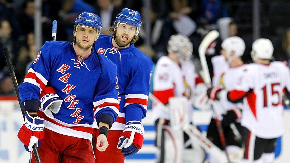 Marian Gaborik and Rick Nash