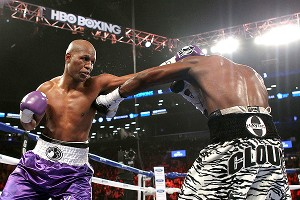 Tavoris Cloud and Bernard Hopkins