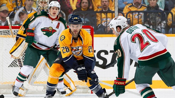 NHL - Minnesota Wild's Ryan Suter Has Emotional Return To Nashville