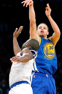 Warriors' Curry on verge of 3-point record