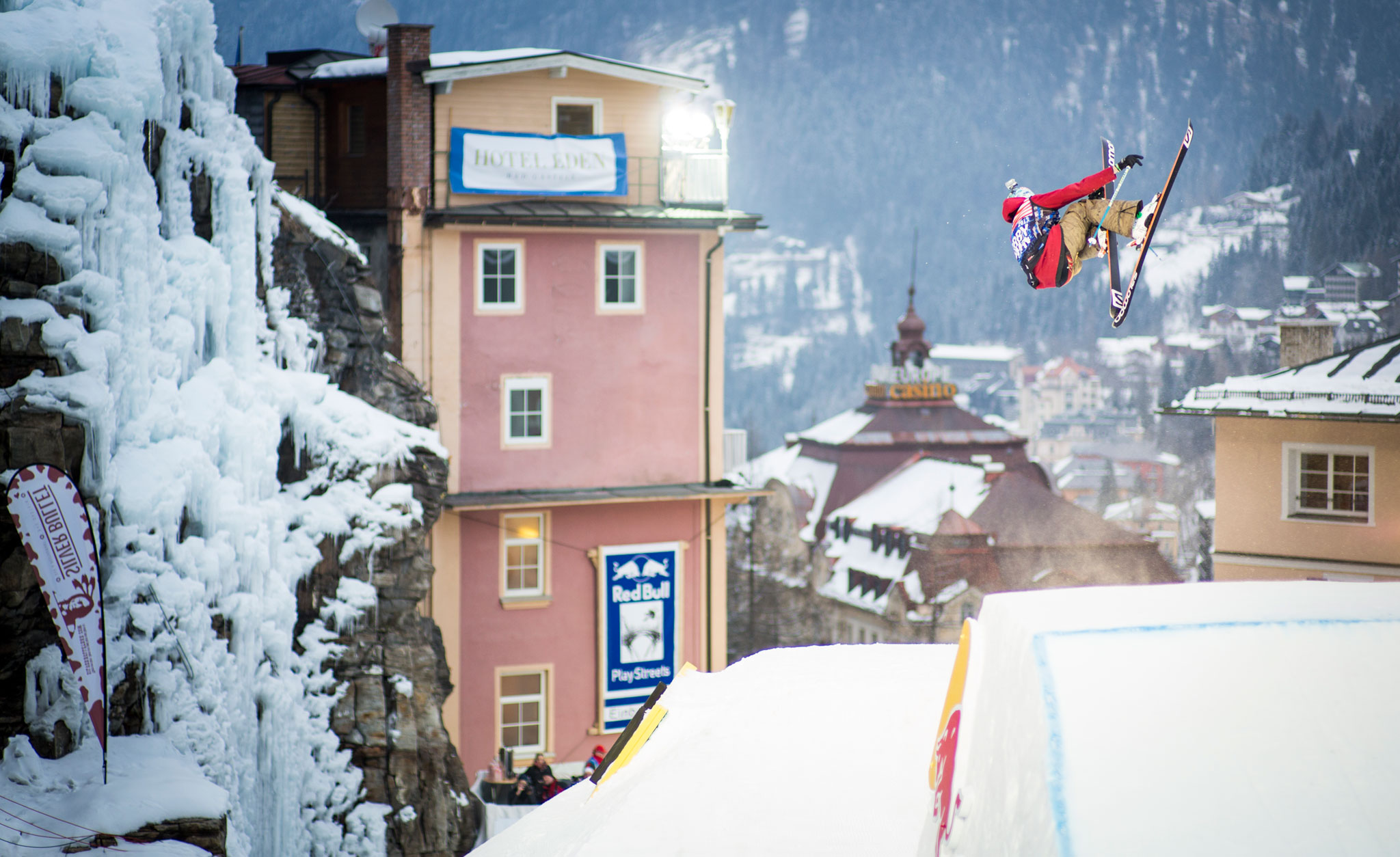 Bobby Brown at Red Bull Playstreets in Austria.