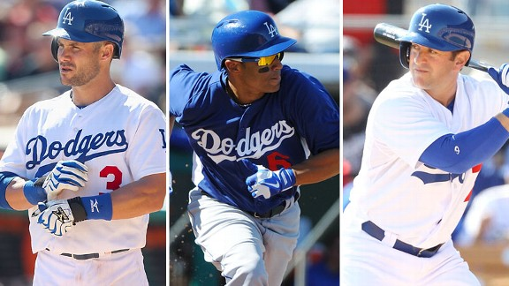 Skip Schumaker, Jerry Hairston Jr., Nick Punto