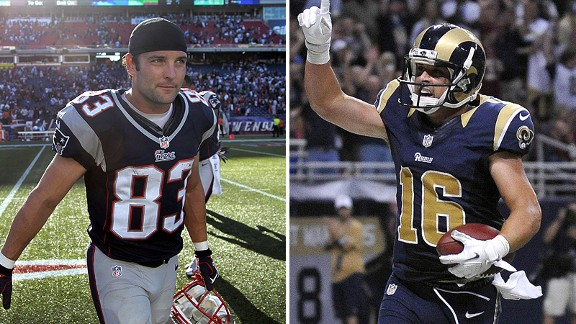 Wes Welker and Danny Amendola