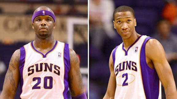 Jermaine O'Neal and Wesley Johnson