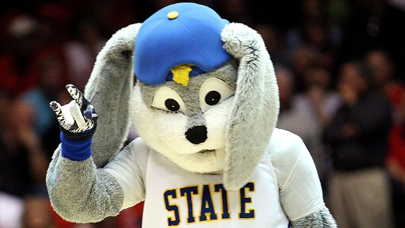 South Dakota State Jackrabbits mascot