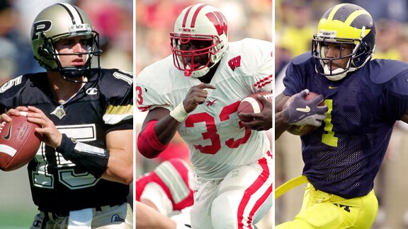 Drew Brees, Ron Dayne, Braylon Edwards