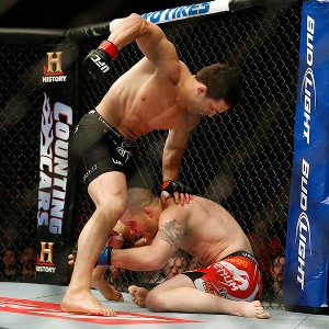 Jake Ellenberger and Nate Marquardt