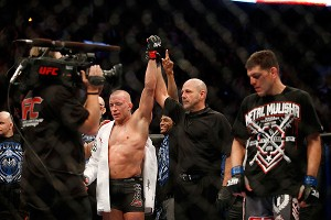 Georges St. Pierre and Nick Diaz