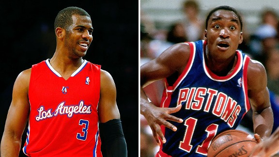 Chris Paul and Isiah Thomas