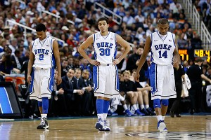 Duke after losing to Maryland