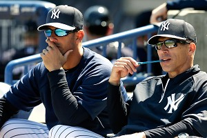Jorge Posada and Joe Girardi