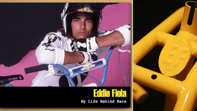 Eddie Fiola is back with a new book and a signature frame, fork and handlebars dubbed the Proformer.