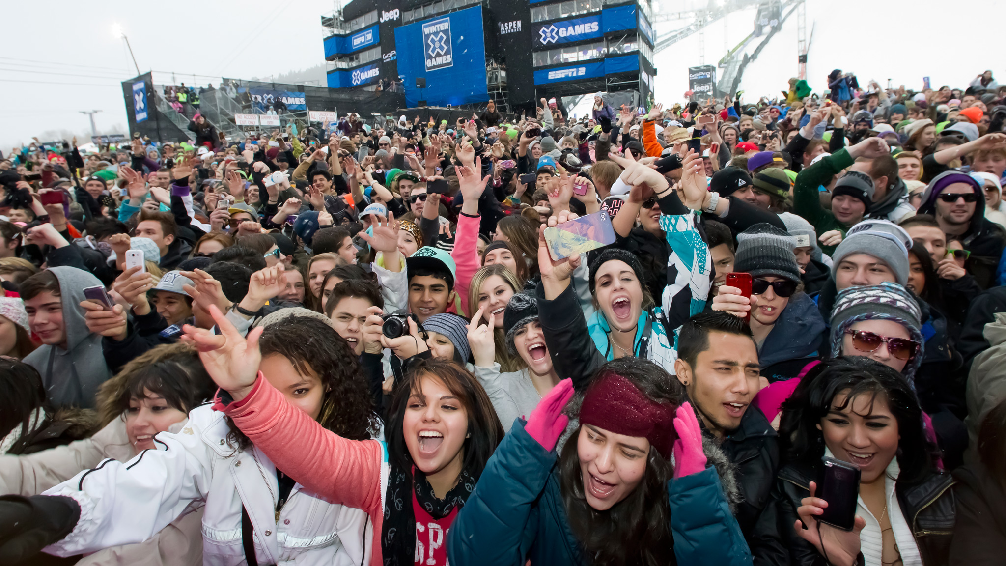 If the crowd count for Calvin Harris at X Games Aspen 2013 is any indication, the X Games MUSIC showcase in Tignes, France, should go off.
