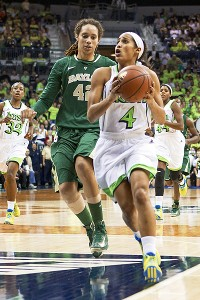 Skylar Diggins and Brittney Griner