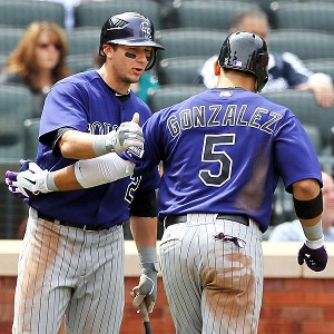 Troy Tulowitzki and Carlos Gonzalez