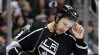 Drew Doughty #8 of the Los Angeles Kings