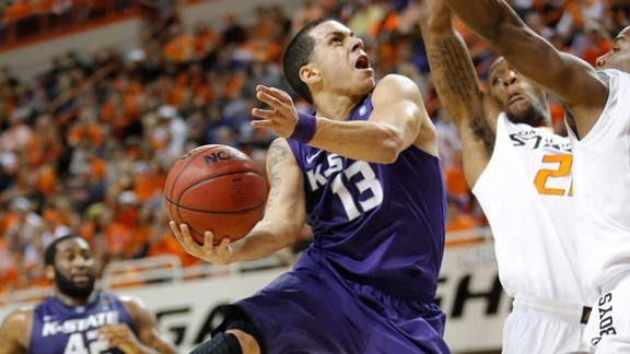 Kansas State's Angel Rodriguez