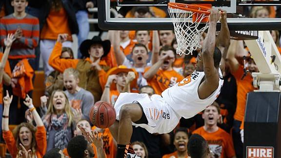 Oklahoma State guard Marcus Smart