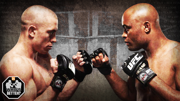 MMA Georges St-Pierre vs Anderson Silva Who's Better?