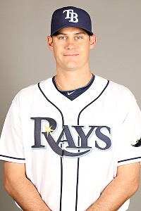 Jamey Wright with the Tampa Bay Rays
