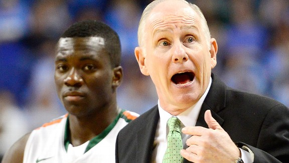 Jim Larranaga and Durand Scott