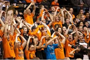 Oregon State fans