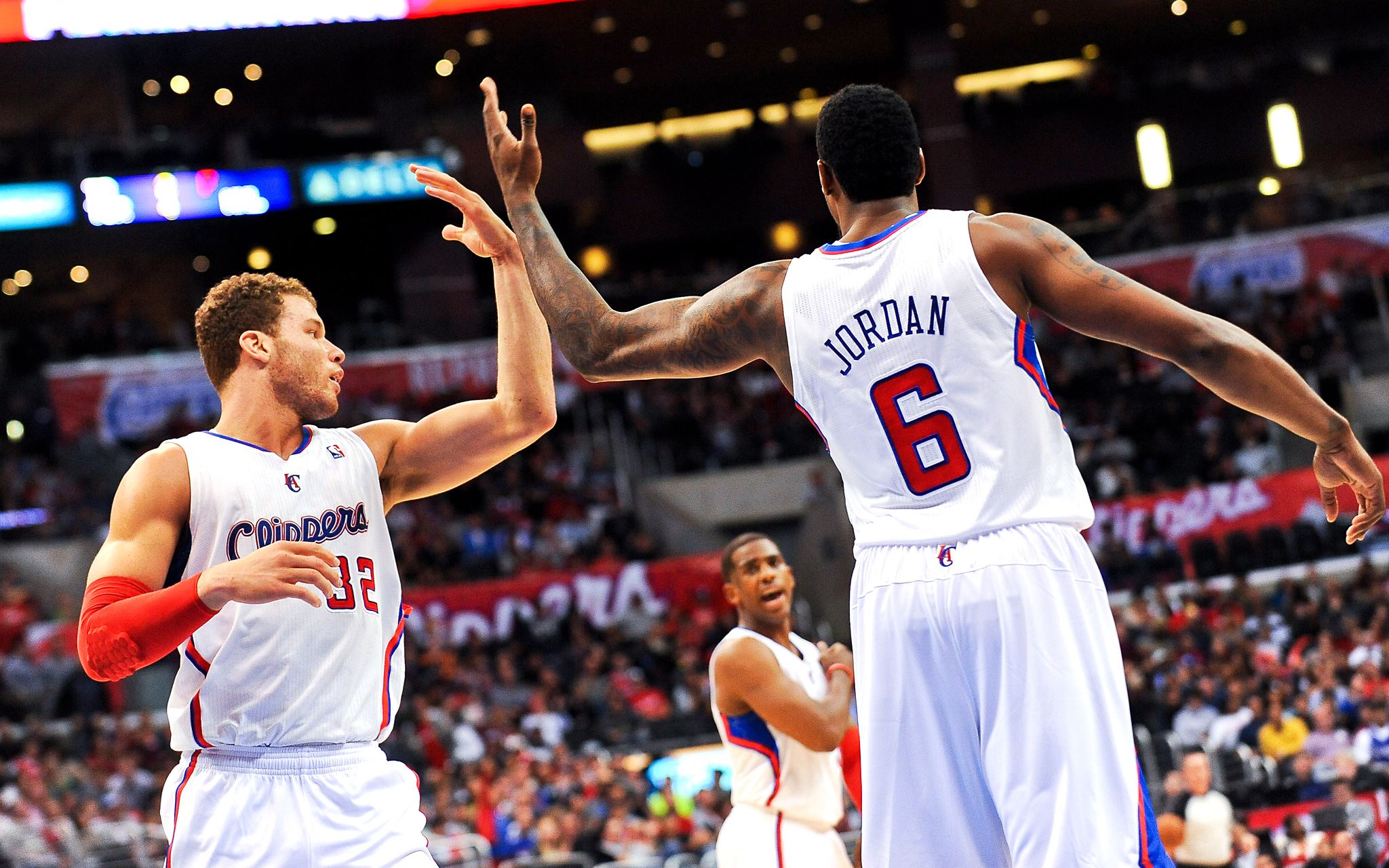 Blake Griffin and DeAndre Jordan