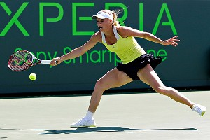 Caroline Wozniacki showed some of her old form at Indian Wells, but in Miami, it all fell apart.