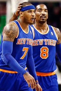 Melo, JR Smith