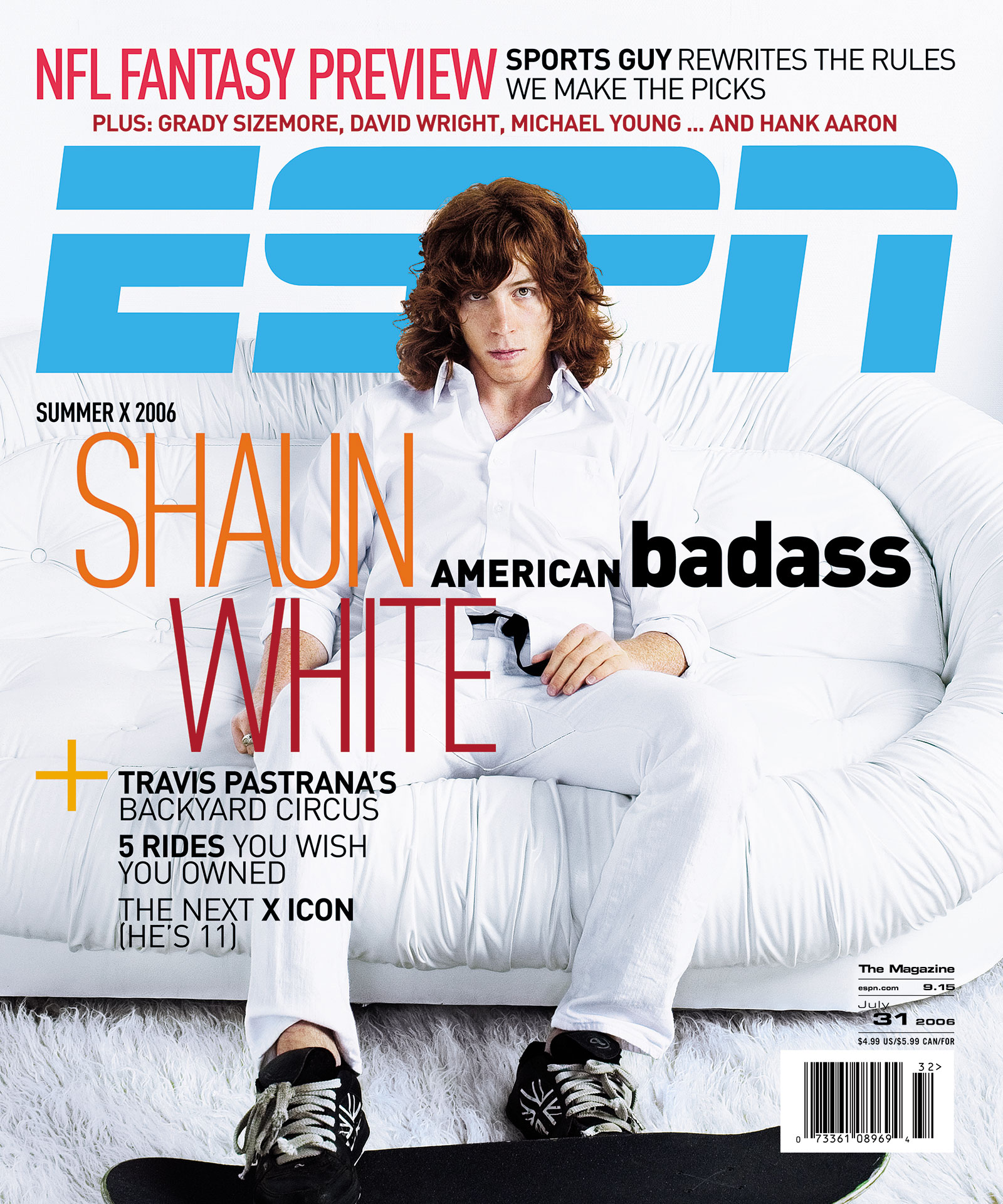 ESPN The Magazine 2006 Covers