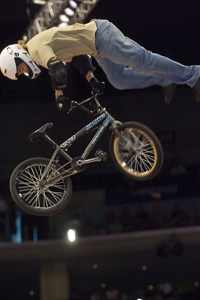 540 whip from Miron during one of his final X Games appearances.