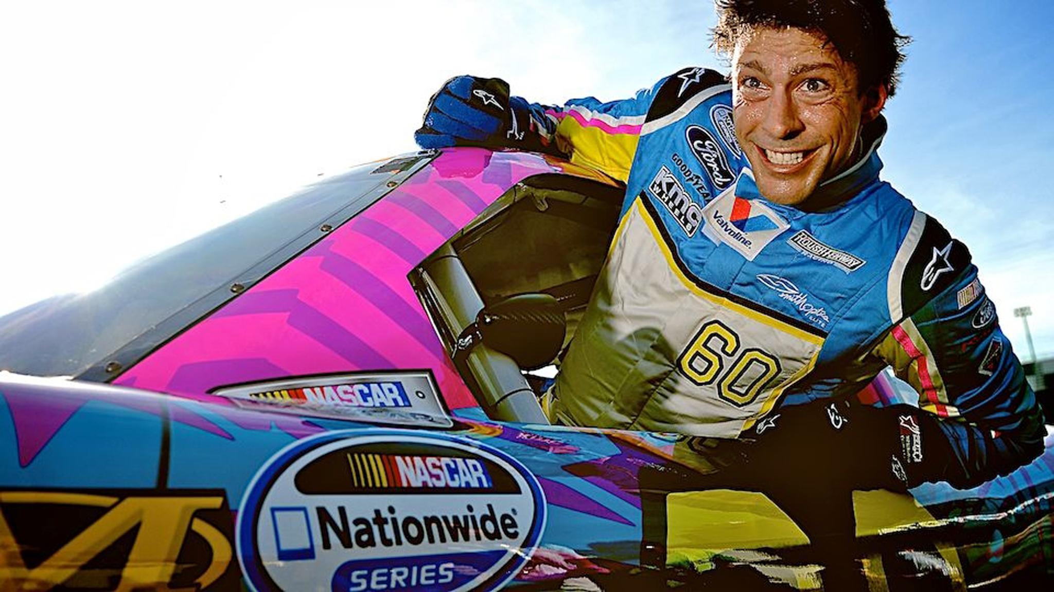 Travis Pastrana segue completamente focado em sua carreira na NASCAR