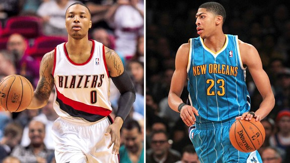 Damian Lillard and Anthony Davis