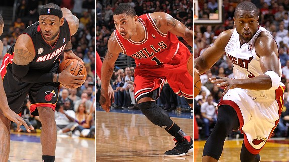 Lebron James/Derrick Rose/Dwyane Wade
