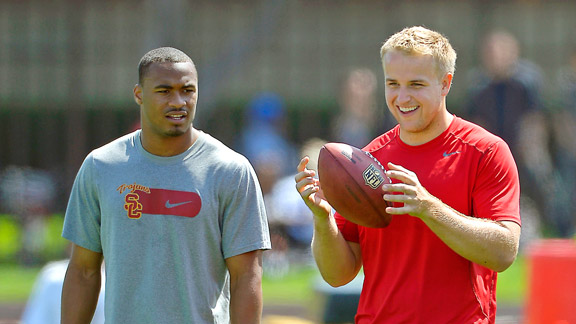 Robert Woods, Matt Barkley