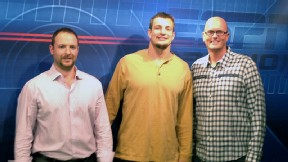 Rob Gronkowski, Ryen Russillo, and Scott Van Pelt