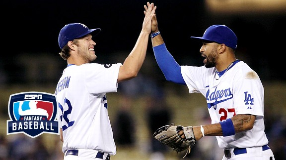 Clayton Kershaw and Matt Kemp