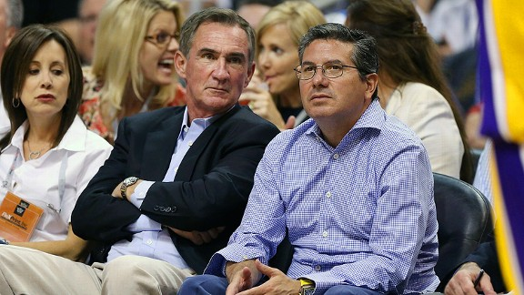 Mike Shanahan and Daniel Snyder