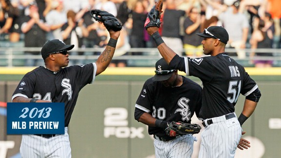 Chicago White Sox outfielders