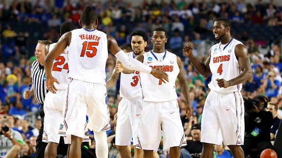 Florida Gators celebrate