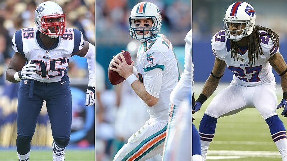 Chandler Jones/Ryan Tannehill/Stephon Gilmore
